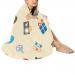 """Circular Micro Fleece Blanket 47"""""""