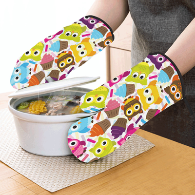 Oven Mitt (Two Pieces)