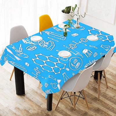 "Cotton Linen Table Cover 90""x60"""